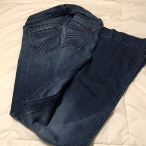 Sz 26 inseams 31 some fraying on bottoms